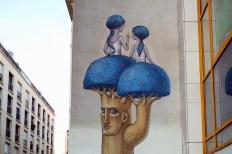 Seth & Kislow, Titre inconnu Street art, 2013 29 rue des Cordelières Paris 13e (75)