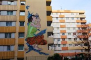 Jana & Js, Titre inconnu Street art, 2011 110 rue Jeanne d'Arc Paris 13e (75)
