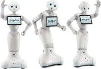 Pepper, le robot d'Aldebaran.