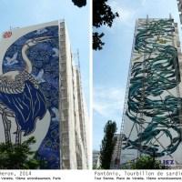 Street art au coeur du quartier chinois de Paris