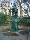 Fontaine Wallace de Montmartre.