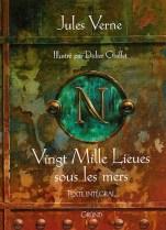 Couverture de Vingt mille lieues sous les mers, Edition Gründ 2002