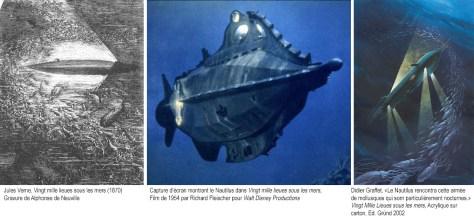 Comparaisons du Nautilus
