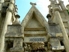 Palais idéal du Facteur Cheval, Hauterives, Drôme, France. Détail : La Mosquée