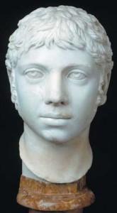 Buste d'Héliogabale, Musée du Capitole, Rome, Italie.