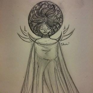 La Fée Electricité (The Electricity Fairy) : Premier croquis