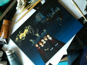 toile-harry-potter-maraudeurs-marauders-peinture-painting-fanart-work-in-progress-7