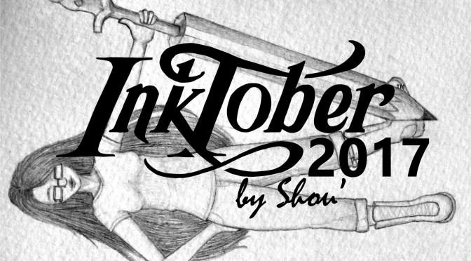 Inktober 2017 – Mes dessins
