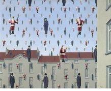 Ed Wheeler revisite une toile de Magritte.