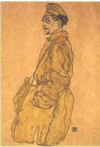 Egon Schiele, Prisonnier de guerre russe, 1915.