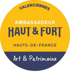 Badge d'ambassadrice des Hauts-de-France