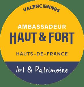 Badge d'ambassadrice des Hauts-de-France