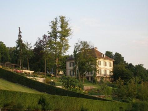 La villa Diodati de nos jours.