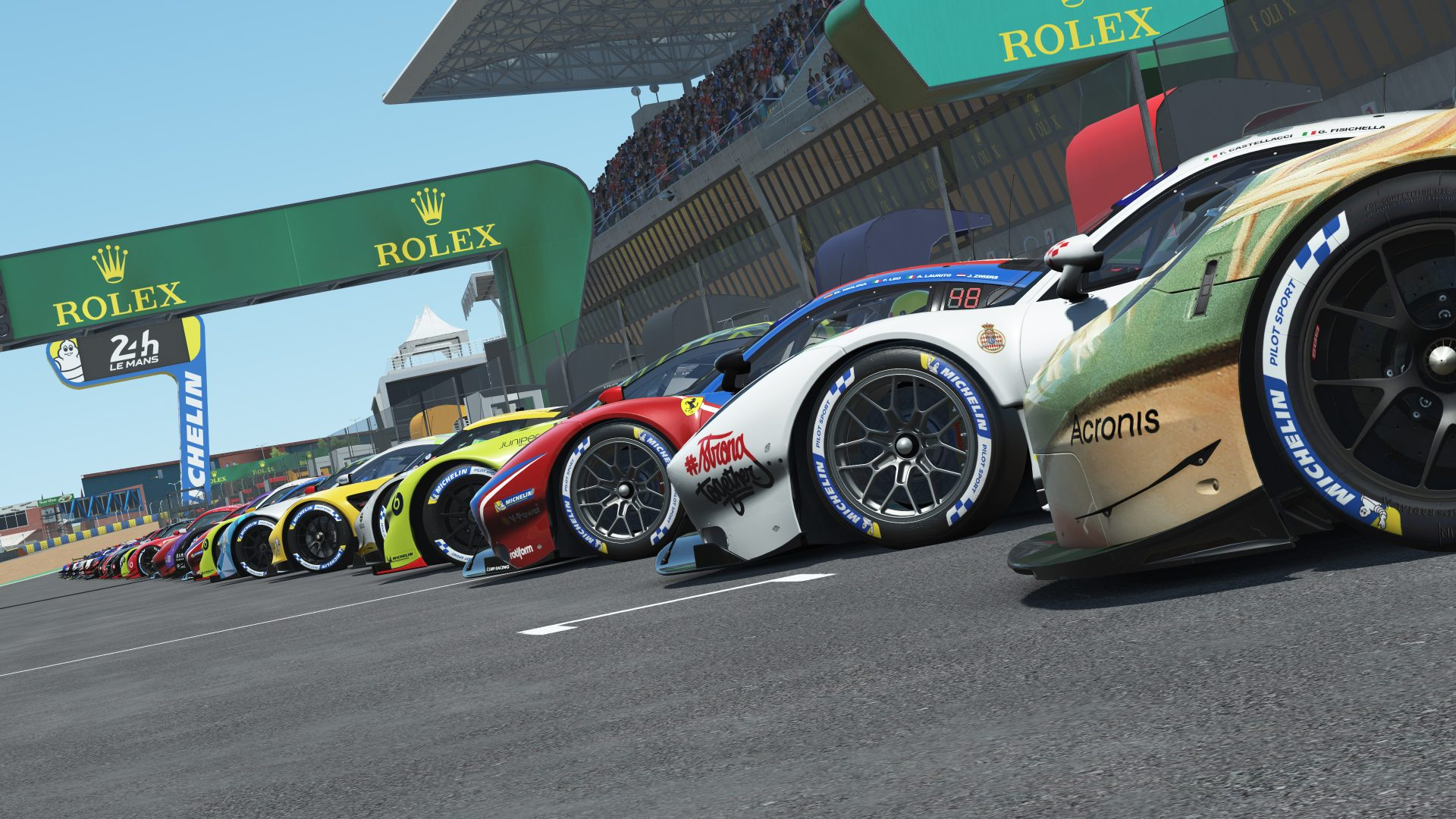 Le Mans 2020 Virtual Livery Pack available free!