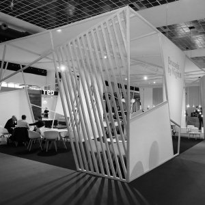 brussels by night bar & reception • furniture fair 2016 • for A&B Project