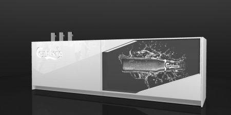 carlsberg • modular counter • for A&B Project
