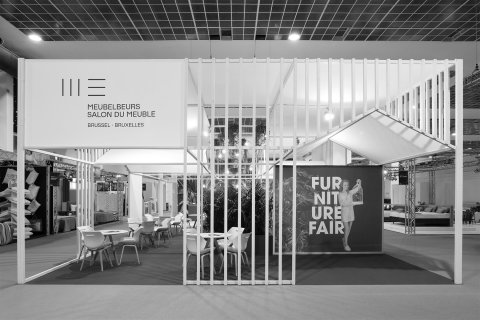 brussels by night bar & reception • furniture fair 2018 • for A&B Project