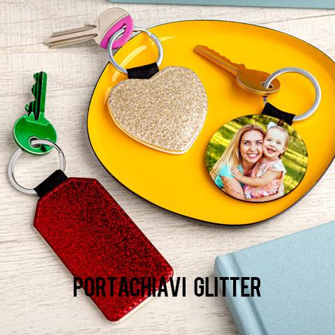 Portachiavi Glitter