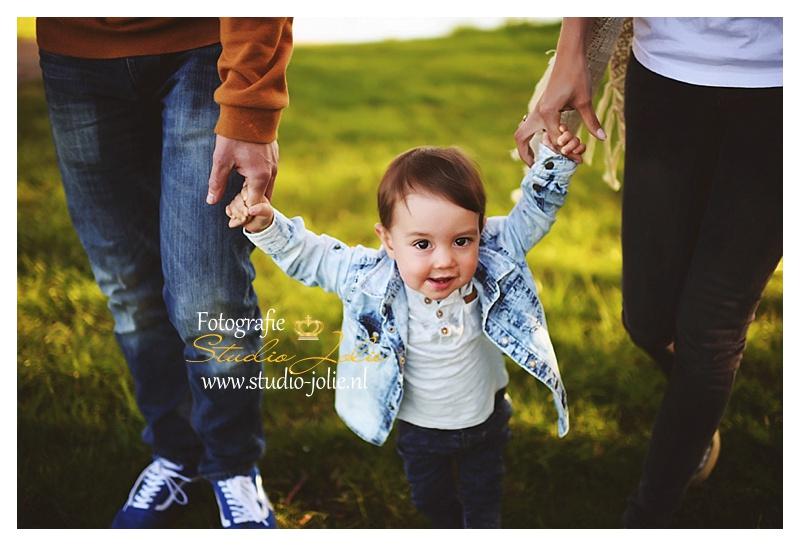 gezin fotoshoot buiten