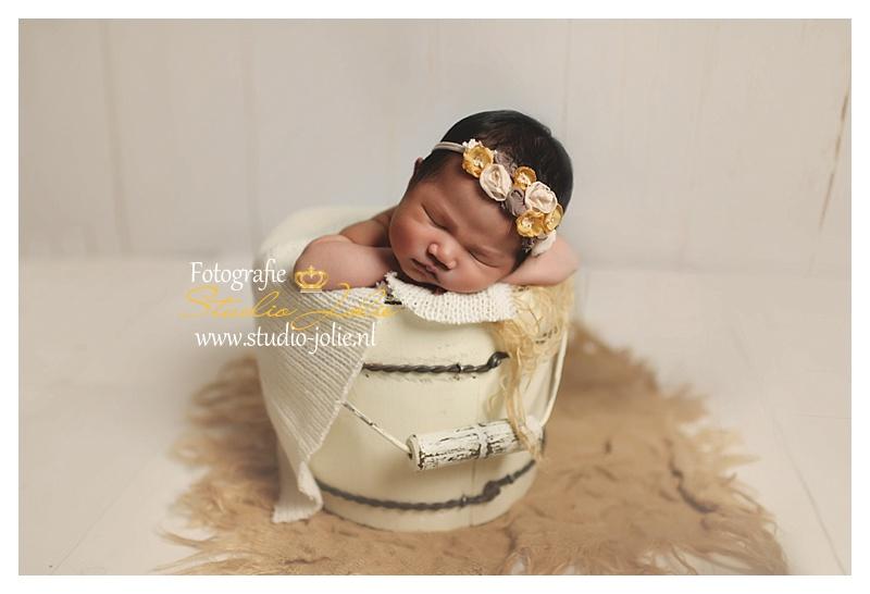 Newborn Fotoshoot Meisje