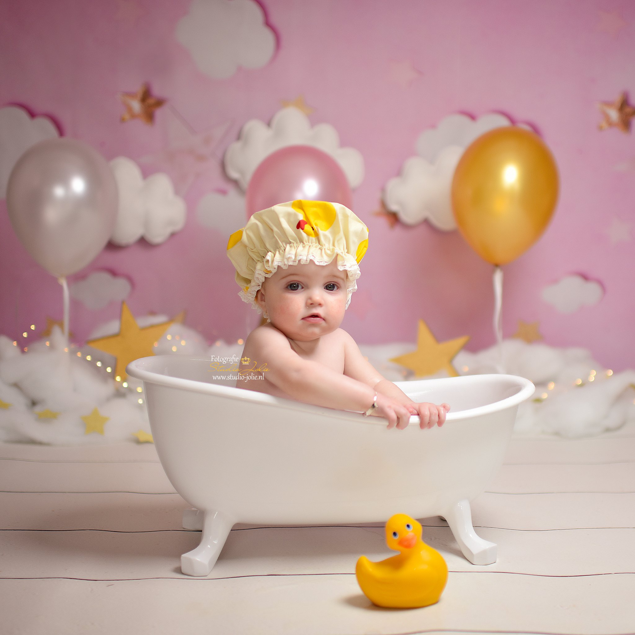 verjaardag fotos laten maken baby