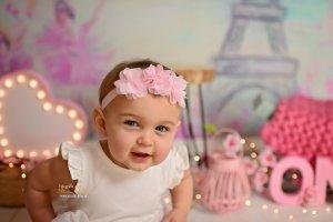 Cakesmash roze meisje