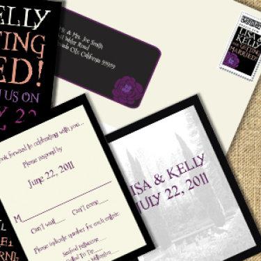 Wedding Invitation Suite L & K