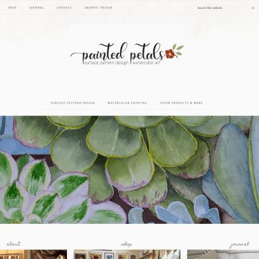Painted Petals Website