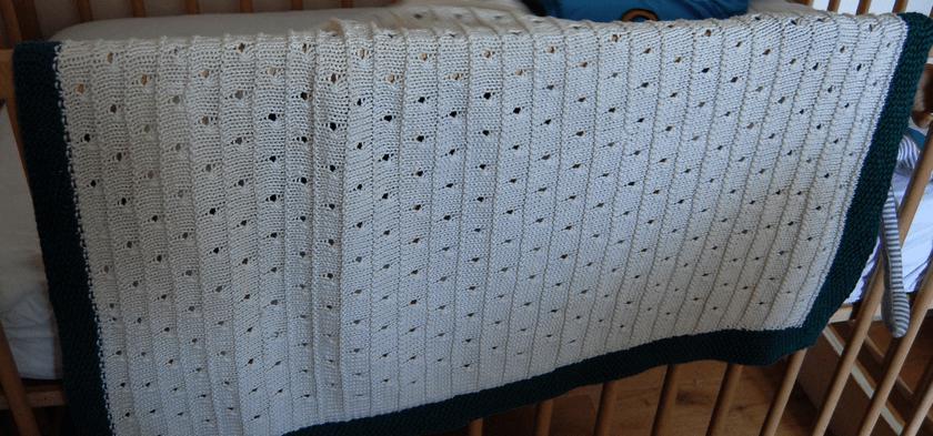 baby deken breien