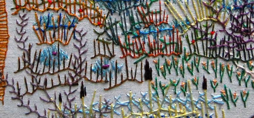 vrij borduren - free embroidery