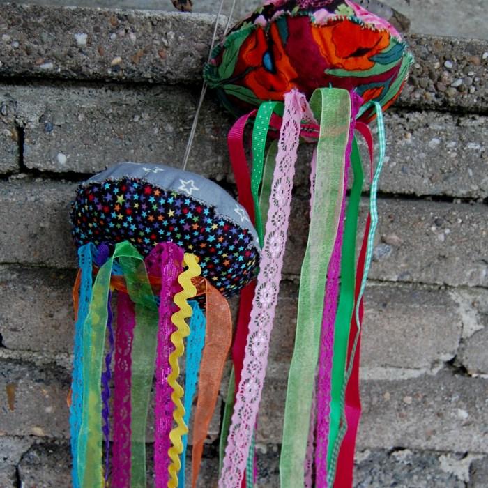 jelly fish maken studio paars voorbeeld