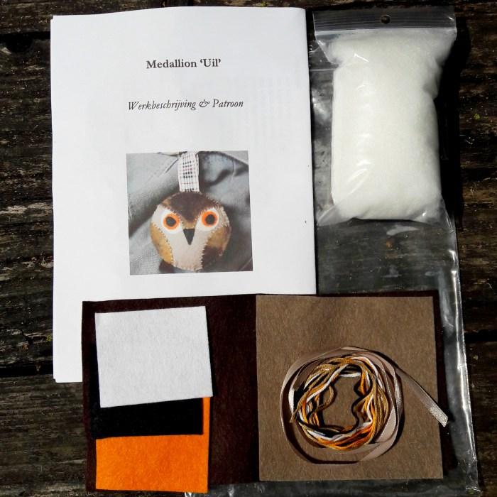 materiaalpakket om zelf een uiltje te maken door studio paars