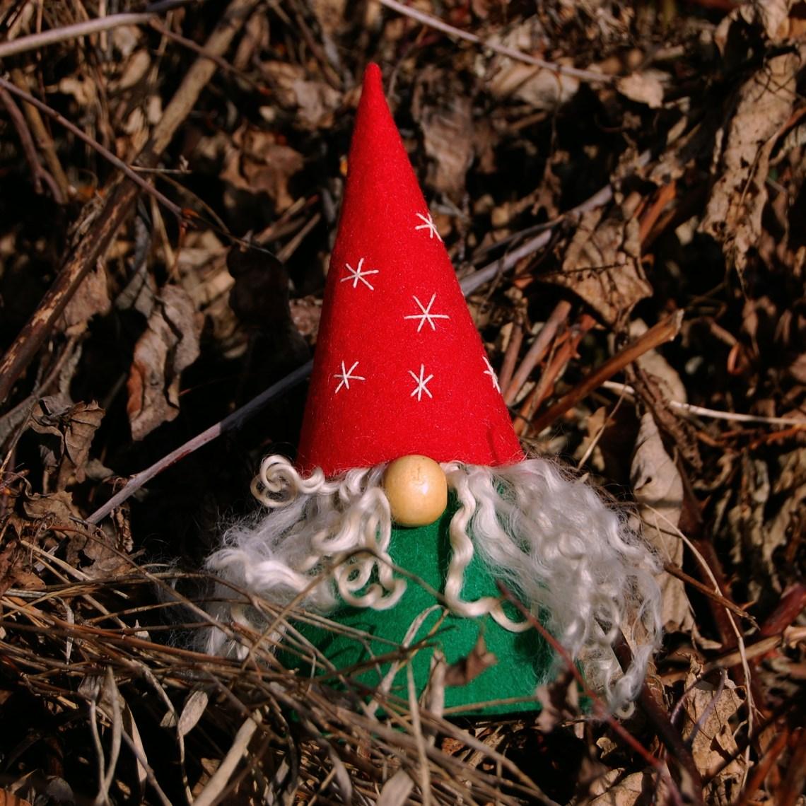 kerstkabouter van vilt door studio paars