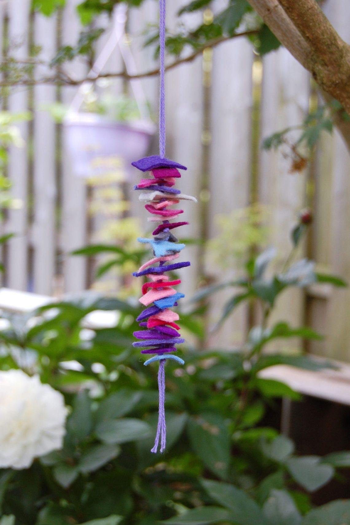 knutselen met restjes vilt door studio paars