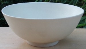 Poh Chap Yeap matt glazed porcelain bowl