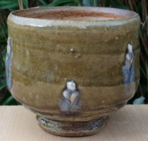 Patrick Sargent large teabowl with ash glazes