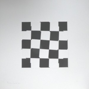 Peter Lowe (b. 1938) AP print signed Peter Lowe '04. The sheet of card is 40.0 cm square. £225