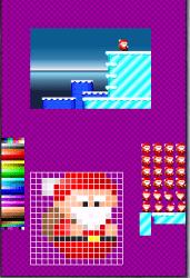 Santa Dangerous, projet Homebrew pour la Nitnendo DS, Pype 2006