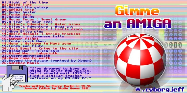 Gimme an amiga - Cyborg Jeff - Album - 1996 - 2012