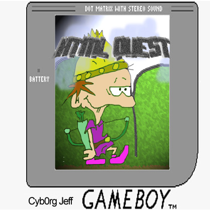Cyborg Jeff - HTML Quest - cover