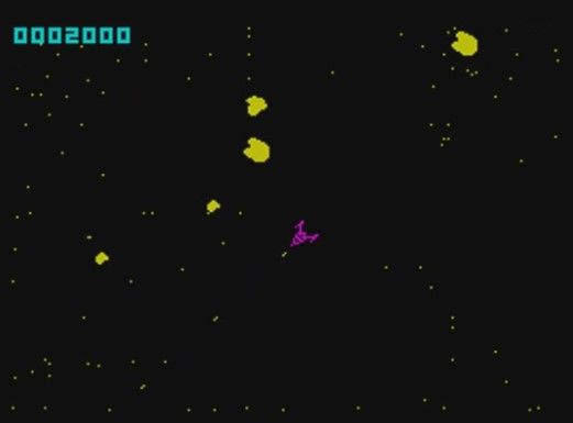 Planetoïds - ZX Spectrum (Psion, 1982)