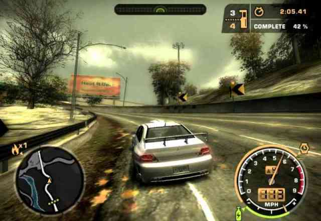 Need For Speed : Most Wanted - PC (EA Games, 2005)
