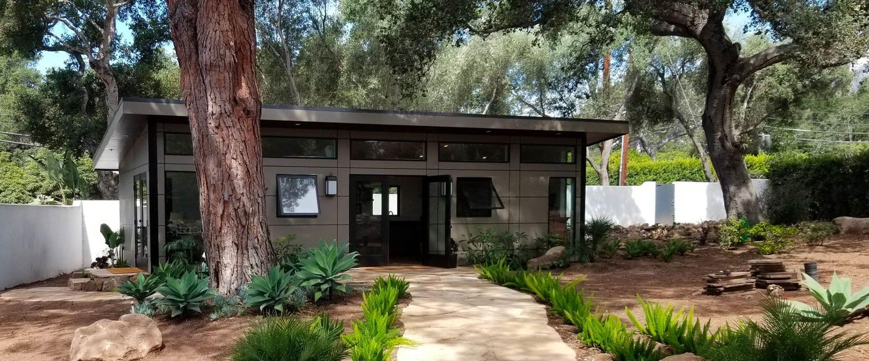 Prefab Accessory Dwelling Units Adu And Modern Garages Studio Shed
