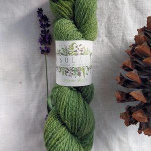 natural dye yarn blue green