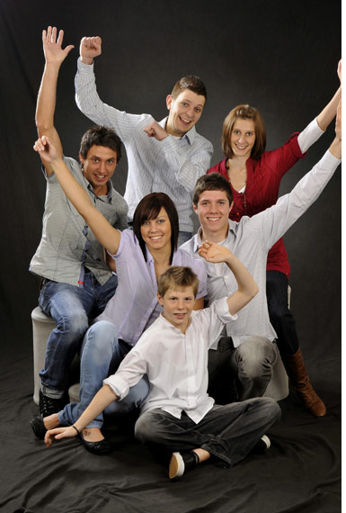 Foto Studio Thiel  Familienfotos  Gruppenfotos