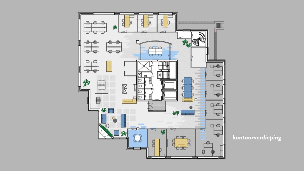 CRM kantoren_plattegrond