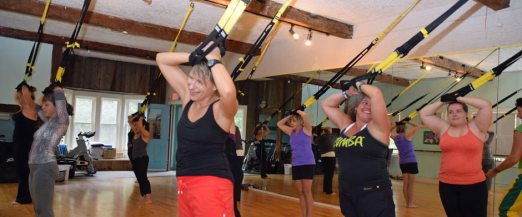 Fun group classes workout Stowe