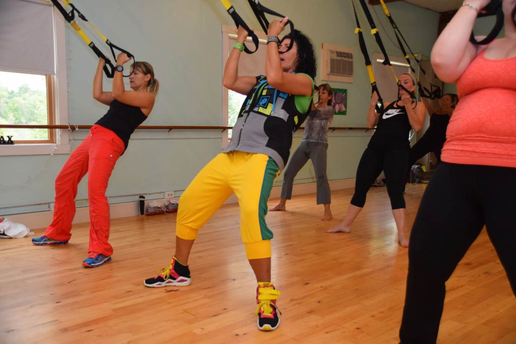 TRX group fitness and exercise classes