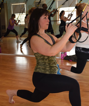 TRX group classes Stowe Vermont