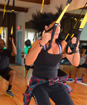 TRX fun group class Stowe VT